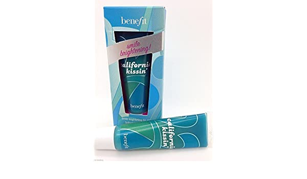 Amazon.com : Benefit Cosmetics California Kissin Smile Brightening Lip Shine 12.5g (slight Box Damage) : Lip Glosses : Beauty