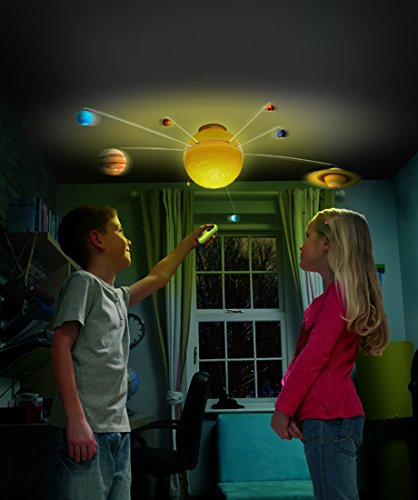 Eureka brainstorm toys sistema solar iluminado for Lampadario bimbi