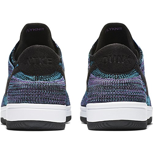 Scarpe Basket White Uomo Violet Chlorine da Nike Dunk Black Bright Blue Flyknit UqnpqEI