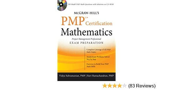 Amazon.com: McGraw-Hill\'s PMP Certification Mathematics eBook: Vidya ...