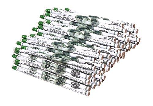 Cheap $100 Dollar Bill Pencils For School Supplies Bulk Pack Of 144 Pencils for sale