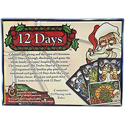 Calliope Games 12 Days - Holiday Themed Card Game - Celebrate Year Round: Toys & Games