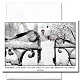 New Year Cards-Peace & Plenty 10 Cards & Env Professional or Personal Use Made in USA by CroninCards