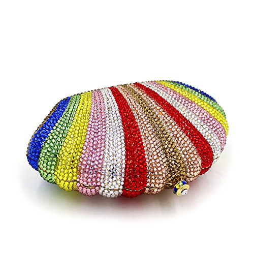 Colorful Embroidery Clutches Evening Bag Party Evening Bag Luxury Dinner Ladies Shells gSZYxz
