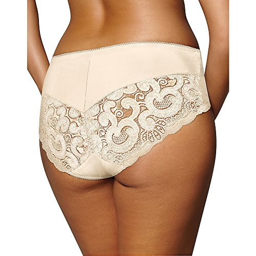 Playtex Women's Incredibly Smooth Cheeky Hipster, Gardenia, X-Large