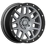 Pro Comp Alloys Series 40 Vertigo Dark Gray Wheel with Black Lip (18x9''/6x5.5'')