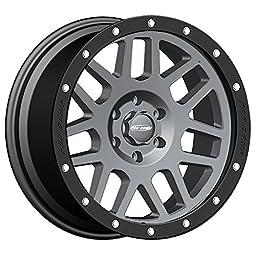 Pro Comp Alloys Series 40 Vertigo Dark Gray Wheel with Black Lip (18x9\