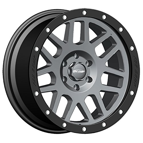 Pro Comp Alloys Series 40 Vertigo Dark Gray Wheel with Black Lip (18x9'/6x135mm) Pro Comp Wheels PXA2640-893650