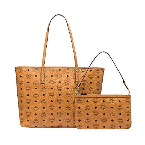 Zip Top Shopper - MCM Women Bags Shoppers Anya Top Zip Shopper in Visetos