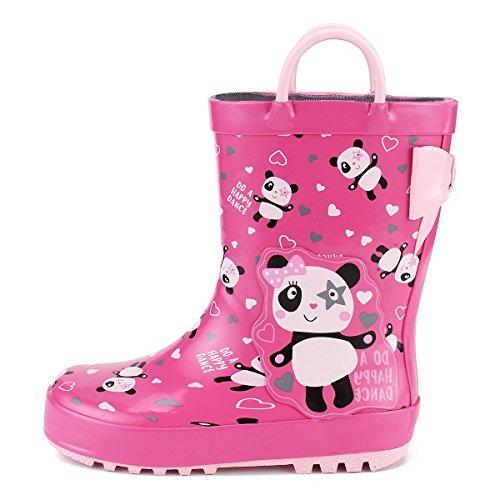 KomForme K Kids Girl Rain Boots