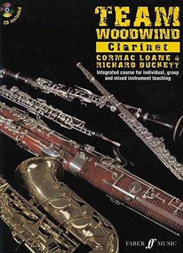 Team Woodwind: Clarinet Paperback – 9 Sep 2008 Richard Duckett Cormac Loane Faber Music Ltd 0571528120