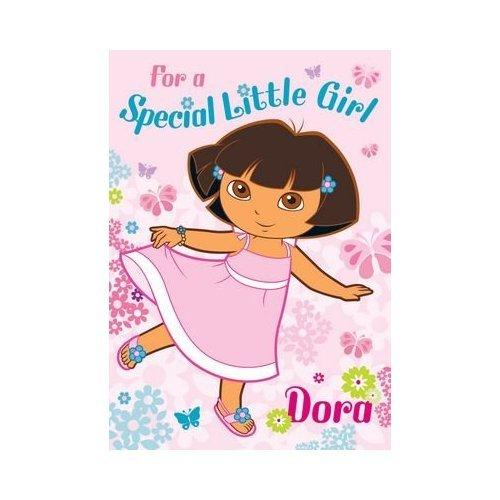 Dora The Explorer Birthday Card For Special Little Girls Amazon