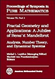 Fractal Geometry and Applications, Benoit B. Mandelbrot, 0821836374