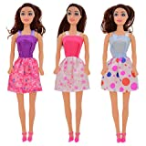 "3 Play House Toy Dolls 11"". Goes Great with Barbie Collection. 2018 Holiday. -Set of 3 Varies"
