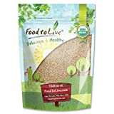 Organic Royal White Quinoa by Food To Live (Raw, Whole Grain, Non-GMO, Bulk) – 1 Pound