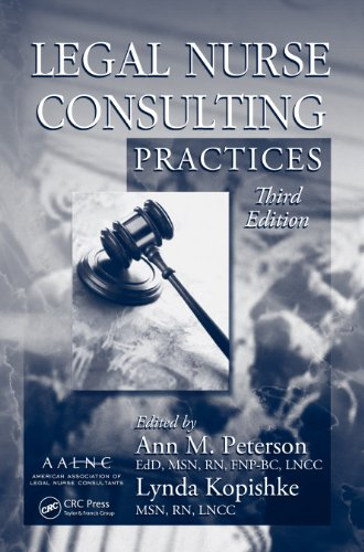 Legal Nurse Consulting Practices, Third Edition Pdf