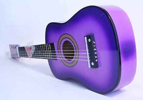 Nuevo juguete para niños Kids Purple Acústica Guitarra Niño de ...