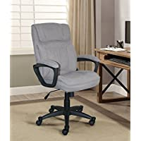 Serta Style Hannah I Office Chair, Microfiber, Light Gray