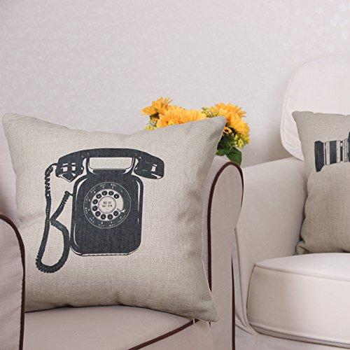 janxon (TM) estilo Vintage Classic manta decorativa Funda de ...