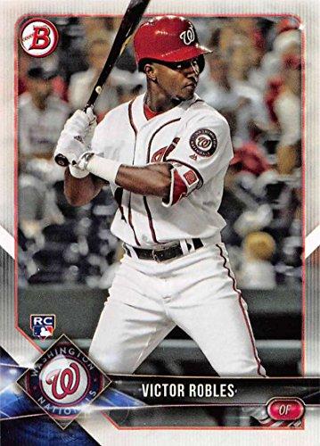 2018 Bowman #6 Victor Robles RC Rookie Washington Nationals Baseball Card