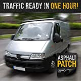 ASPHALT PATCH & POTHOLE FILLER 56 lb Pail   Pothole Repair Kit   Driveway Patch   Paving Patch - 5 Gallon Pail
