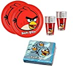 Angry Birds Birthday Party Supplies Set Plates
