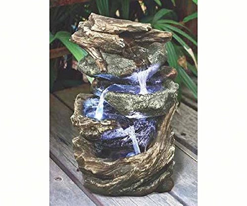 2 PACK Glacier Peak Cascading Garden Fountain by Design Toscano