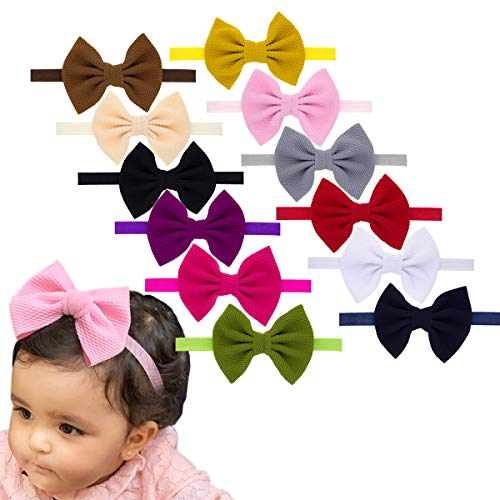 - Baby Girl Headbands Newborn Infant Toddler Hairbands and Bows Child Hair Accessories (DN155)