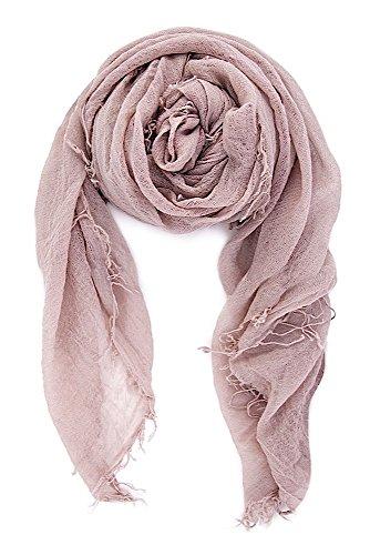 Chan LUU NEW Adobe Rose Cashmere & Silk Soft Scarf Shawl Wrap by Chan Luu