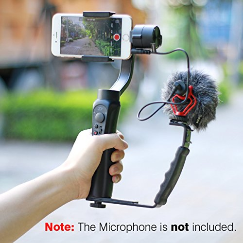 Zhiyun Smooth Q 3 Axis Handheld Gimbal Stabilizer,Wireless Control For Max 6 inch Smartphones iPhone 7 6s plus Youtube Video Vlogging Android Samsung Galaxy Huawei Xiaomi Gopro by Zhiyun