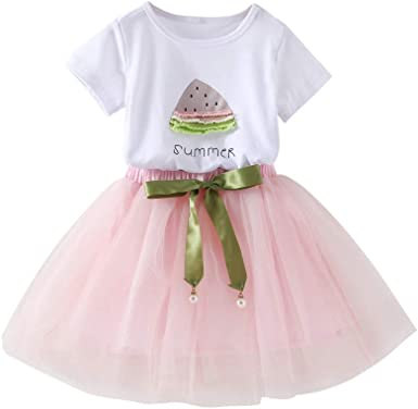 Bbay Toddler Girls Summer Clothes Outfits 1-4 Years Old Kids Sleeveless Shirt Tops Casual Floral Shorts Pants Set