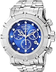 Invicta Mens S1 Rally Quartz Stainless Steel Casual Watch, Color:Silver-Toned (Model: 23952)