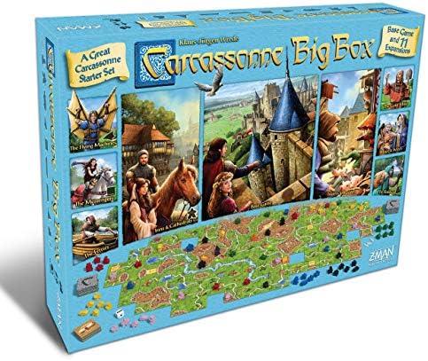 Carcassonne: Big Box: Amazon.es: Juguetes y juegos