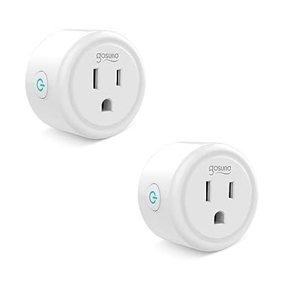 Mini Smart Plug Outlet Work With Amazon Alexa Google Home IFTTT, No ...