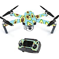 MightySkins Protective Vinyl Skin Decal for DJI Mavic Pro Quadcopter Drone wrap cover sticker skins Blue Avocados