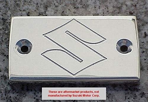 i5 Chrome Engraved Fluid Cap for Suzuki Savage Intruder Volusia Marauder Boulevard S40 C50 M50 S50