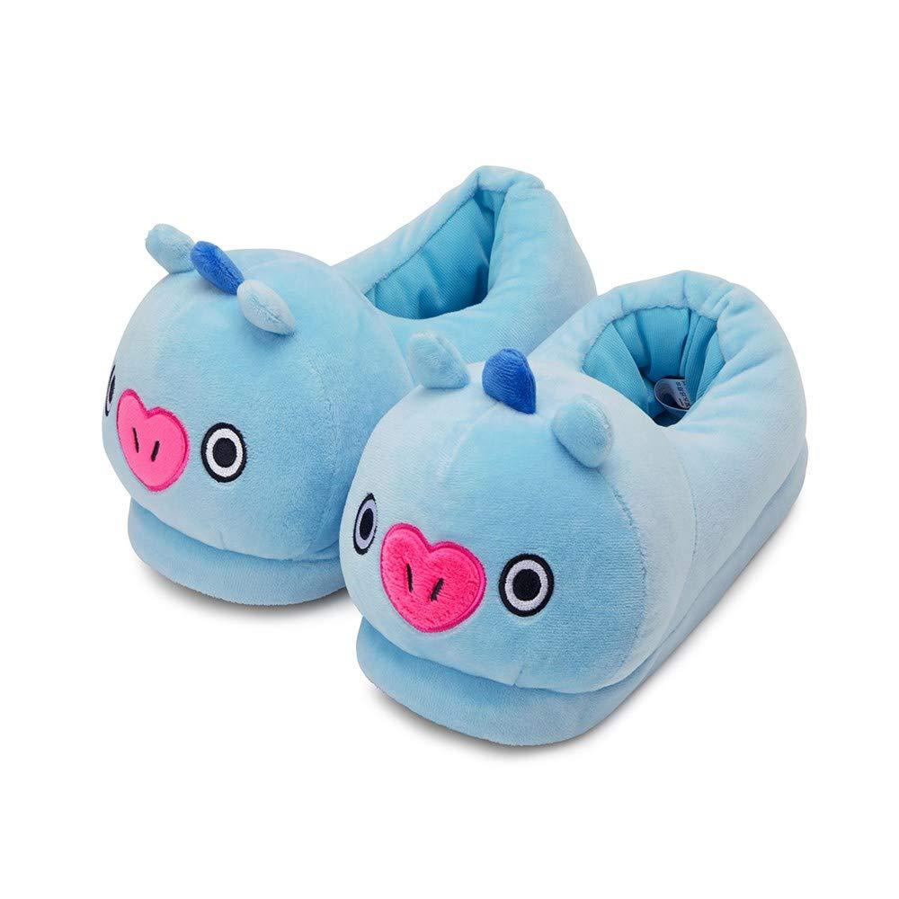 Line Friends x BTS Collaboration BT21 MANG Plush Doll Comfortable Slipper Size 5-7