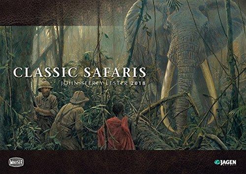 Classic Safaris - John Seerey Lester Kalender 2018: Jagen Weltweit & Mauser