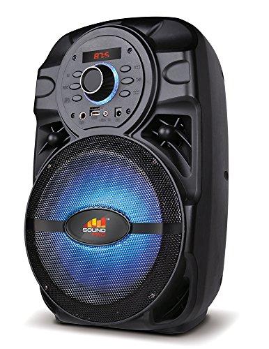 Naxa Electronics NDS-8002 Wireless Karaoke Party Speaker, Bl