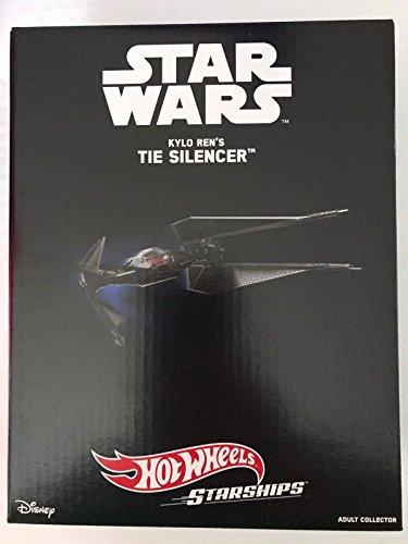 Sdcc Star (2017 SDCC Exclusive Mattel Tie Silencer Star Wars Kylo Ren Starship Hot Wheels)