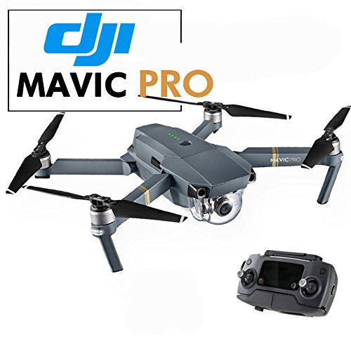 DJI Mavic Pro Collapsible Quadcopter Drone Bundle with Landing Combo Kit