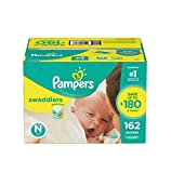 Pampers Swaddlers Diapers Size Newborn 128.0ea (pack of 1)