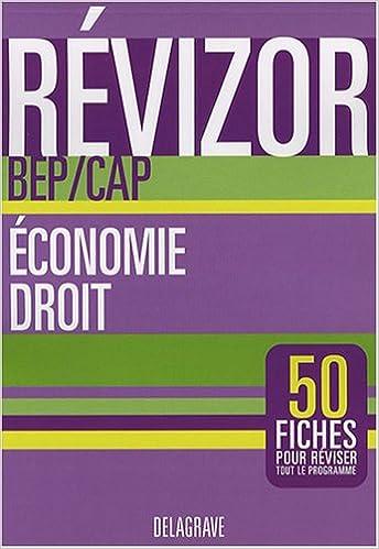 Lire un Economie Droit BEP CAP pdf, epub ebook