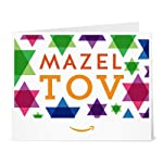Amazon.ca eGift Card - Print - Mazel Tov Stars