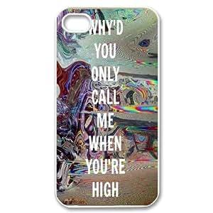 Custom Arctic Monkeys Fans Hard Plastic phone Case for Apple iPhone 4 4S RCX075206