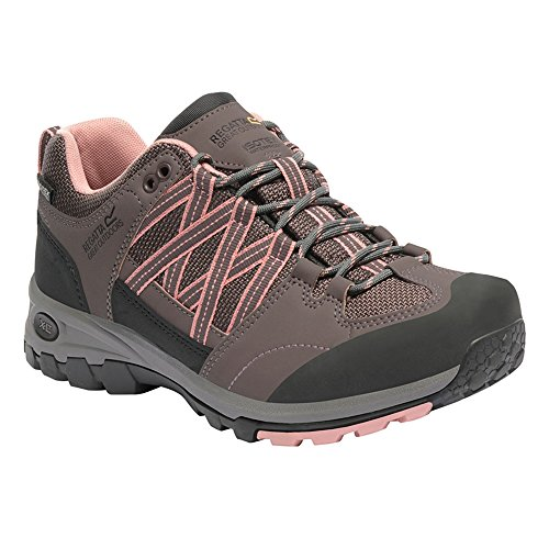 Regatta Lady Samaris, Women's Low Rise Hiking Shoes Walnut/Rose Tan