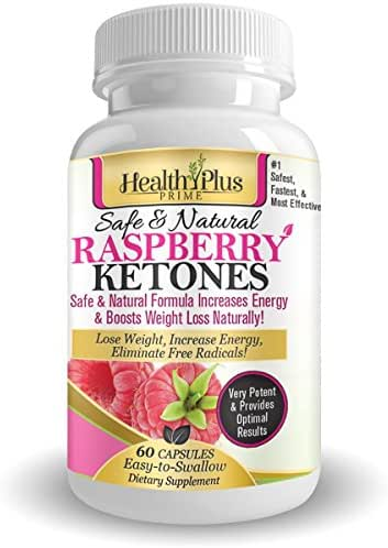 Raspberry Ketones for Maximum, Best 100% Pure Natural Weight Loss! #1 to Suppress Appetite & Stop Overeating, Antioxidants, Huge 500mg Serving! No Fillers, Artificial Ingredients, & No Side Effects!
