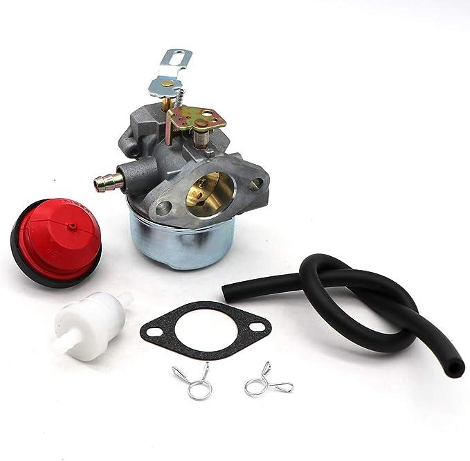 Carburetor for Tecumseh Engine HMSK80 HMSK90 Snowblower Generator Chipper HL