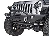 Havoc Offroad GEN 2 Wrecking Ball Mid Width Front Bumper with Bull Bar 2007-2017 Jeep JK Wrangler and Factory Fog Light Cut Outs