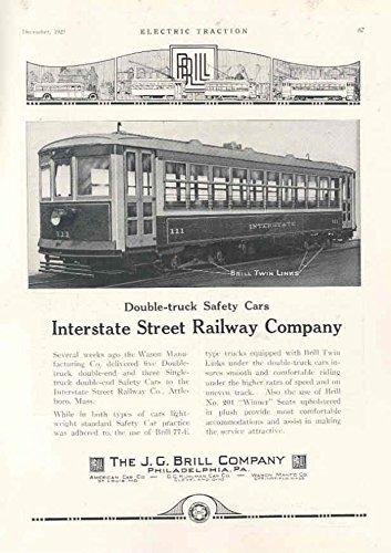 1925 Brill Interstate Trolley Railway Train (Brill Trolley)
